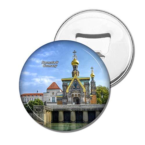 Weekino Deutschland Darmstadt Bier Flaschenöffner Kühlschrank Magnet Metall Souvenir Reise Gift