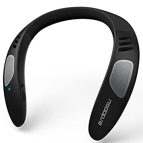 ウェアラブルネックスピーカー ネックスピーカー ワイヤレス Bluetooth ポータブルスピーカー 首掛けスピーカー マイク内蔵 サラウンド エコーキャンセラ ハンズフリー通話