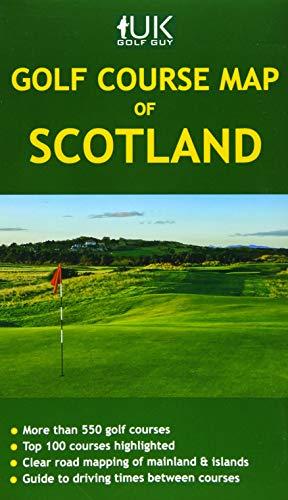 Golf Course Map of Scotl