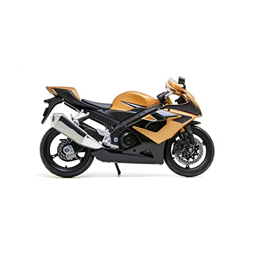 Juguete De La Motocicleta para GSX-R1000 Modelo De Motocicleta 1:12 Escala Diecast Metal Bicicleta Miniatura Carrera Juguete Regalo