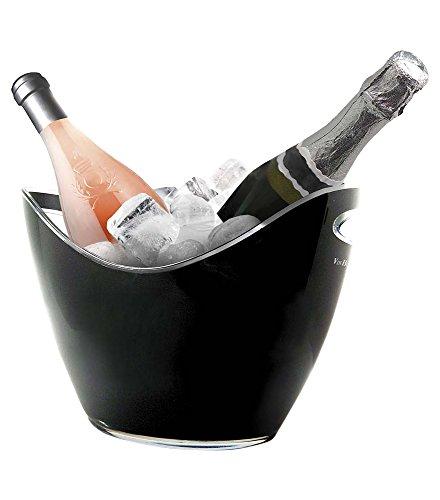 Vin Bouquet FIE 006 - Secchiello per 2 bottiglie, colore nero