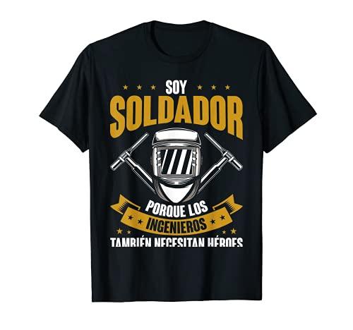 Hombre Trabajador Del Metal Soldador Welder Divertido Soldadura Camiseta