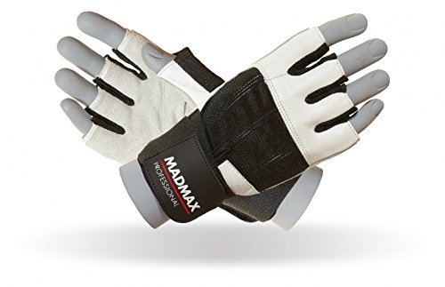 MAD MAX Professional, Guanti Donna, White/Black, XL