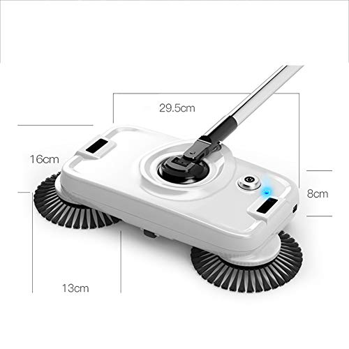 Best Prices! Aich Hand-Push Mop and Broom 2-in-1 Multi-Function Cleaner Household Electric Vacuum Cl...
