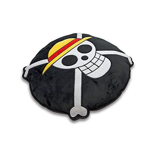 One Piece - Cojín decorativo (35 cm), diseño de Luffy Ruffy