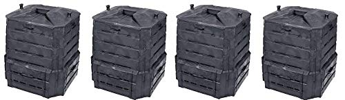 Algreen Products Soil Saver Classic Compost bin (4-(Pack))