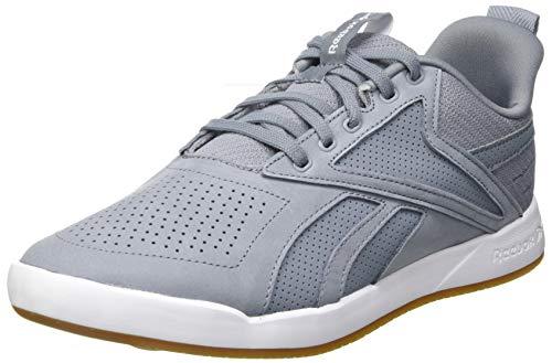 Reebok Herren Ever Road DMX 3.0 Leather Walking Shoe, Cold Grey/White Lee, 44.5 EU