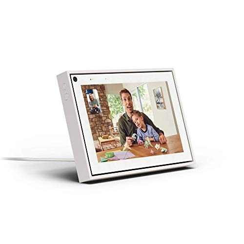 """Facebook Portal Mini - Smart Video Calling 8"""" Touch Screen Display with Alexa - White"""