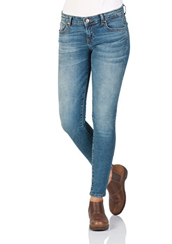 LTB Damen Jeans Mina Super Slim Fit - Blau - Henrietta Wash, Größe:W 34, Farbe:Henrietta Wash (50684)