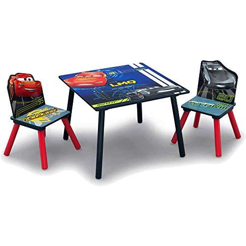 Disney NEU Cars Kindersitzgruppe Kindertischgruppe Tisch + 2 Stühle