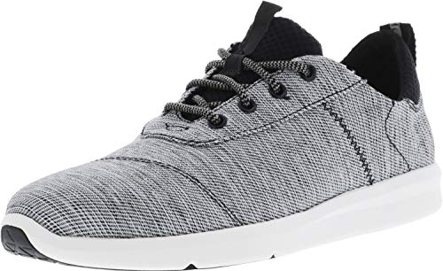 TOMS Herren Cabrillo Sneaker, Black Space-Dye, 47 US