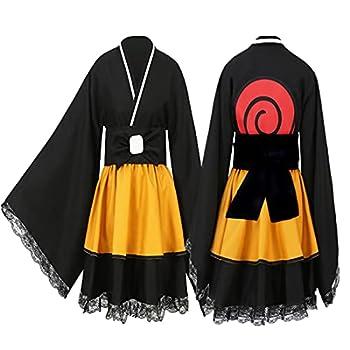 Anime Cosplay Costume Lolita Dress Women Kimono Girl kids Maid Dress Uniforms Halloween XL adult