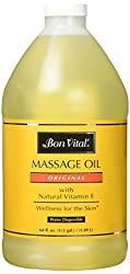 professional Original Bon Vital Massage Oil for a versatile massage base that relieves and relieves muscle pain …