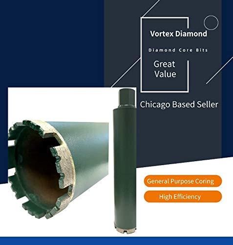 VORTEX DIAMOND VCB 3 Inch Wet Concrete Diamond Core Drill Bit for Concrete Stone Granite Marble (3