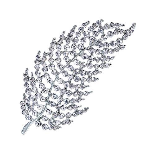 Tendycoco - Broche de cristal con brillantes para mujer y niña