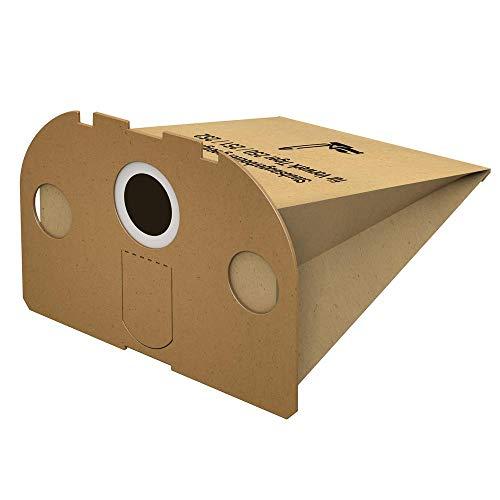 Kenekos 20 Staubsaugerbeutel geeignet für Vorwerk Tiger 250, 251, 252, VT 250, VT 251 u. VT 252 Staubsauger, Beutel aus mehrlagigem Spezialpapier inkl. Filter