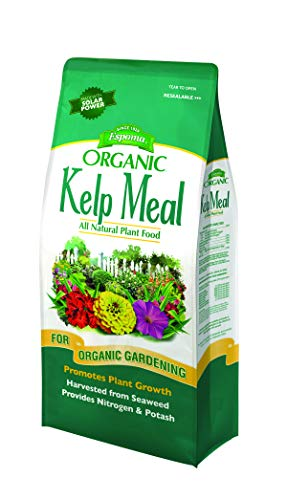Espoma KM4 Organic Traditions Kelp Meal 1-0-2 - 4 lb Bag