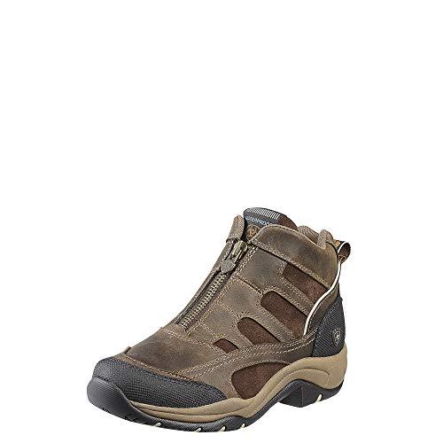 Ariat Terrain H20 Zip Womens Short Riding Boots UK 3.5 Brown