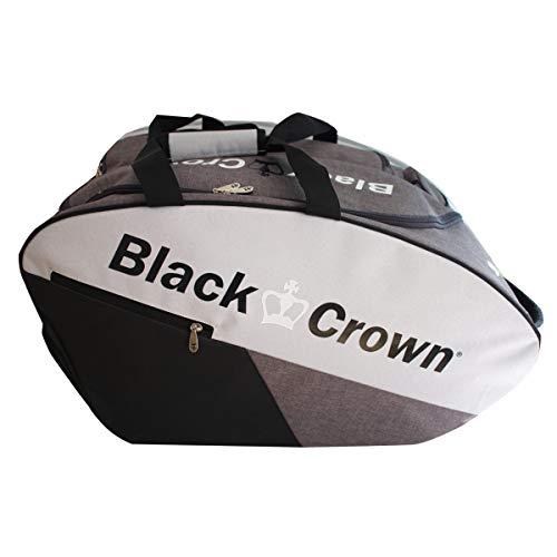 Paletero Calm Gris-Negro | Bolsa de Pádel | Black Crown