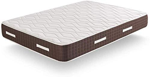 HOGAR24 ES-XP25 - Materasso viscoelastico, massima qualità in riposo, comfort e rigidità elevata, spessore 30 cm, tessuti, 120 x 190