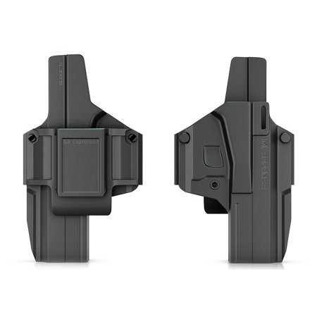 New IMI Defense Z8017 Revolutionary Morf X3 Tactical Polymer IWB & OWB Holster Interchangeable Transform Paddle / Belt Right & Left Hand For Glock 17 Gen 4 Compatible