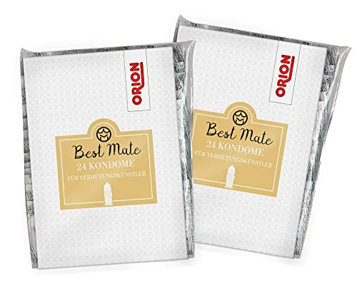 ORION Kondome - genoppt-gerippte Präservative I Kondom gefühlsecht I wenig Eigengeruch I Safersex I Made in Germany (48)
