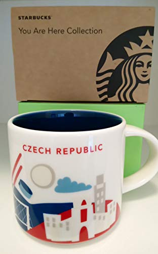 Starbucks Mug YAH (You Are Here) Czech Republic
