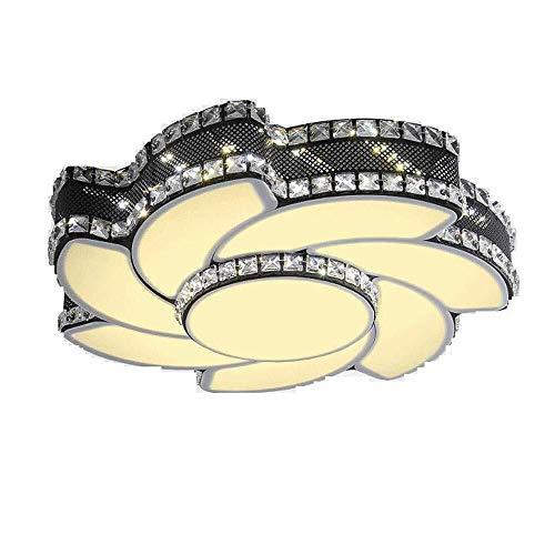 BESTPRVA Techo de Cristal de luz LED de acrílico Brillante Pantalla de lámpara Dormitorio la decoración del hogar del Accesorio del Techo de la lámpara de la lámpara LED Lámparas de Techo Iluminación