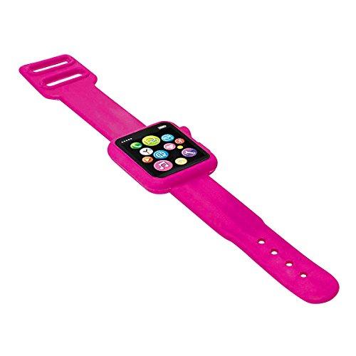 Wedo Gum Smartwatch 19,5 x 3 x 0,8 cm, kunststof, blauw roze