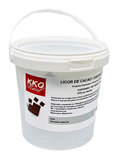 KKO REAL – Masa de Cacao (Pasta, Licor) Puro Natural 100{251f7e3a4230b139ac138841713ce5770b2c33e57e95f76acf1a8e6e4a8b0a1e} Venezolano (600 gr)