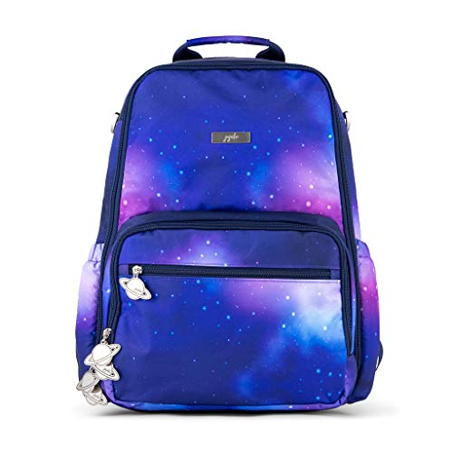 JuJuBe Galaxy Zealous Backpack | Lightweight, Travel-Friendly, Stylish Diaper Bag, Multi-Functional Backpack Purse for Kids and Adults, Casual Daypack | Changing Pad Included