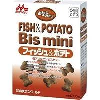 ワンラック 犬猫用おやつ お気にいり フィッシュ&ポテト ビスミニ 200g