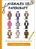 Papercraft de Animales - Manualidades para niños - Manualidades con papel - Libro creativo - Piezas Origami Juego - Kit de Origami para Niños - Juguetes de Papel