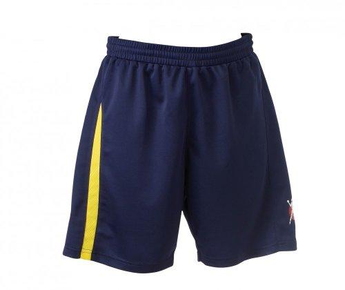 Kempa Damen Shorts Base Women, marine/limone, L