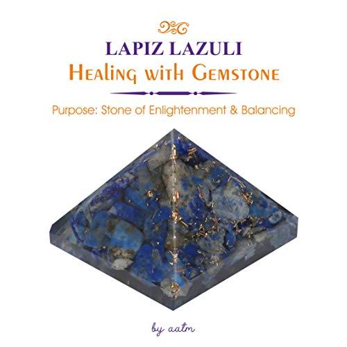 Aatm Energy Generator Lapis Lazuli Orgone Pyramid for EMF Protection C