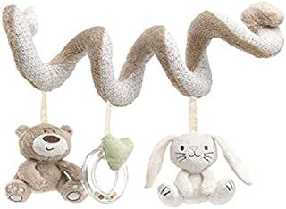 Baby Crib Bed Stroller Playing Hanging Rattle Toy Car Hanging Pushchair Pram Toys with Animal Style
