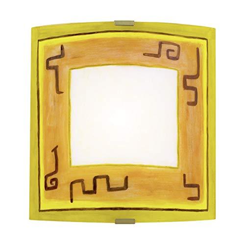 Eglo Leuchten E27, 60 W, gris, 28 x 3 x 29 cm
