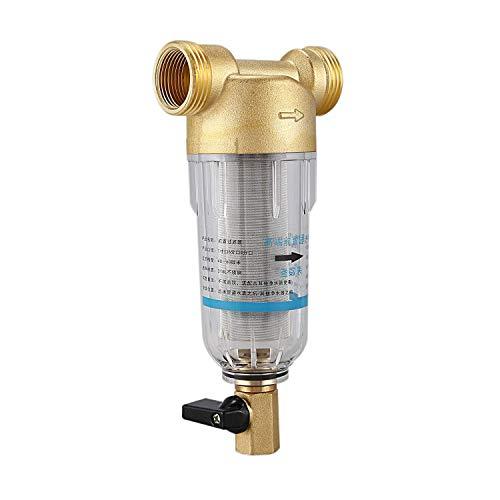LHQ-HQ. 1 Zoll bis 3 / Inch-Schnittstelle Copper Türsieb Haushaltsreiniger ganzen Haus Wasserfilter Wasserfilteranlage Zentral Entkalkung