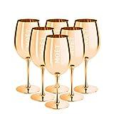 Moët & Chandon Ibiza Imperial - Copa de champán (edición limitada), color dorado