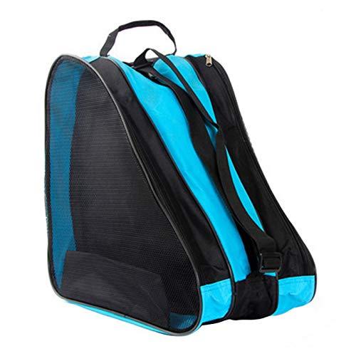 MOVKZACV Rollschuh-Tasche, Schlittschuh-Tasche, Oxford-Stoff, atmungsaktiv, dreieckig, für Kinder Mädchen und Jungen