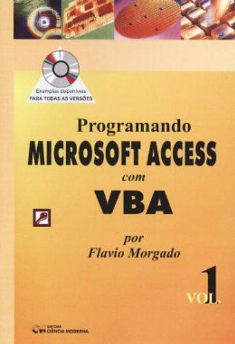 Programando Microsoft Access Com Vba - V. 01