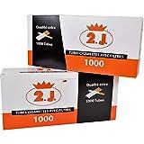 Lot de 4000 Tubes À Cigarette Extra dans Leur Boîte, Lot De 4 Boites De 1000 Tubes Cigarettes Haut De Gamme avec Filtre De La...