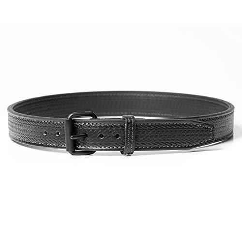Gun Belt - Basket Weave Pattern - 14oz Steel Core - 36 Inch...