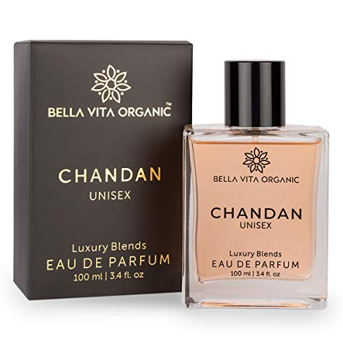 Bella Vita Organic Chandan Perfume For Men & Women with Long Lasting Exotic Fragrance of Sandalwood, 100 ml