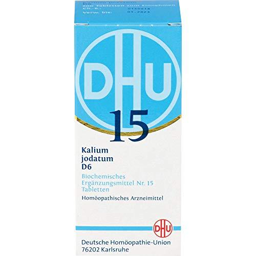 DHU Schüßler-Salz Nr. 15 Kalium jodatum D6 Tabletten, 200 St. Tabletten