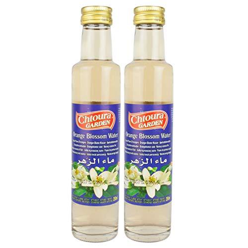 Chtoura Garden - Orientalisches Orangenblütenwasser zum Backen und Kochen - Set á 250 ml