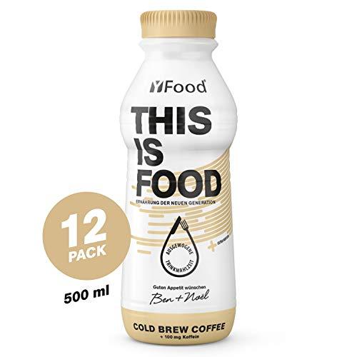 YFood Coffee, pasto pronto da bere | Pasti sostitutivi senza glutine né lattosio | 34 g di proteine, 26 vitamine e minerali |25% del fabbisogno calori