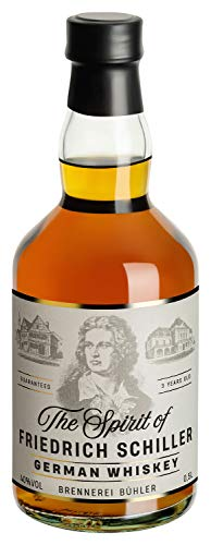 The Spririt of Friedrich Schiller, Single Malt German Whisky, (1x 500ml)