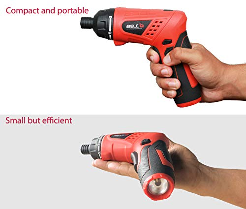 iBELL MS06-16 Cordless Rechargeable Electric Screwdriver