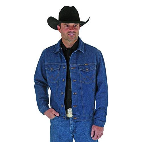 Wrangler Men's Western Denim Jacket, X-Large Tall